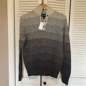 Men's Banana Republic Half-button Sweater